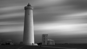 New Gardur Lighthouse - Iceland